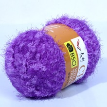 Hand kintting yarn with Nylon and Polyester Fancy Yarn TL-37