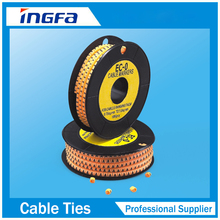 Insulation PVC Circle and Flat Cable Markers for Wire Protection