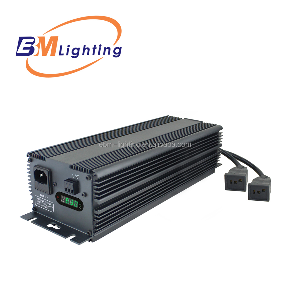 Ultra Bright Compact 630 Watt CMH/CDM Digital Dimmable Electronic Ballast with Soft Start Technology