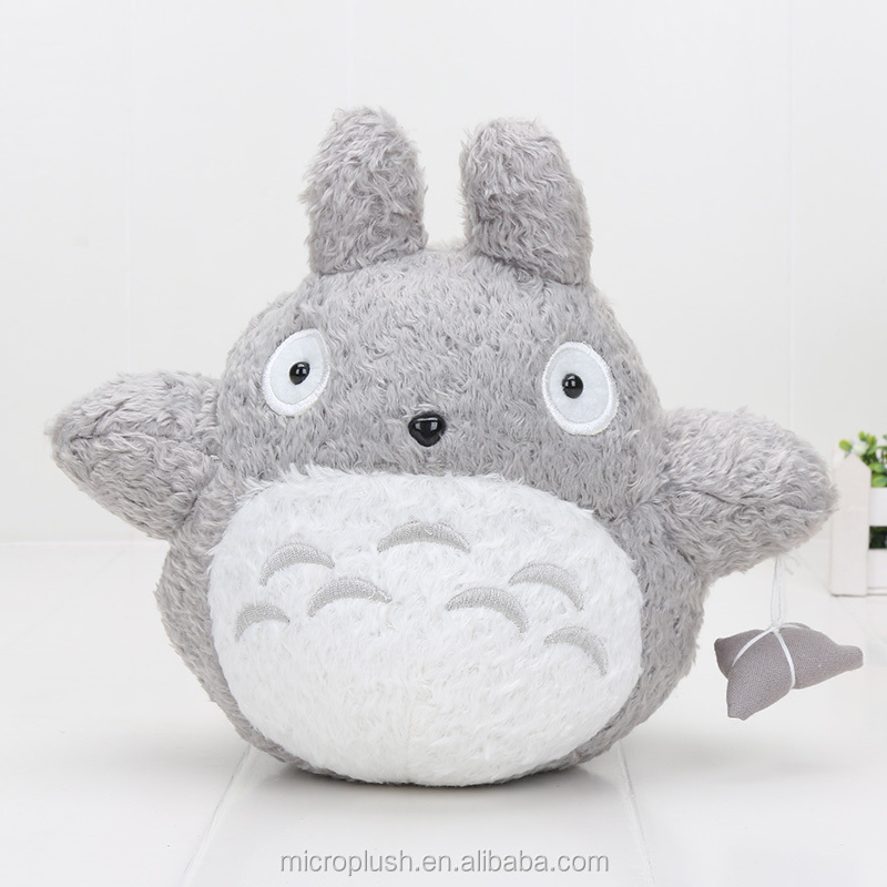 factory doll Cute 25cm My Neighbor Totoro plush toys with rice dumplings