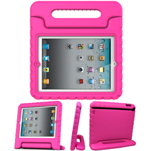 Top Selling Kids Children Shockproof Silicone Protective Case for iPad 2/3/4