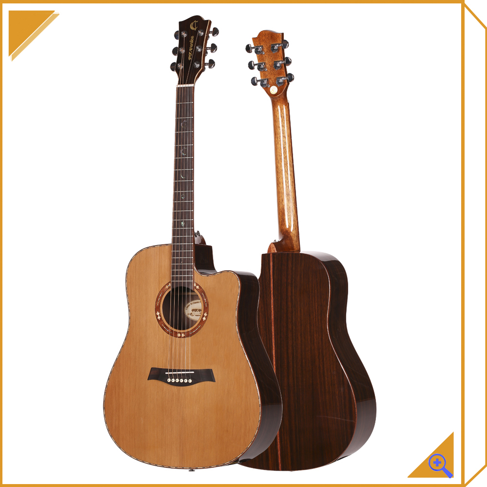 OEM Unique China Guitar Factory Guitar Brands Thin Acoustic Guitar