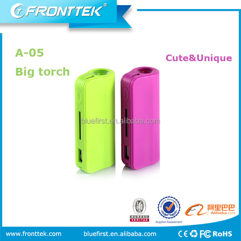 Custom for hp power bank 7500mah with low price