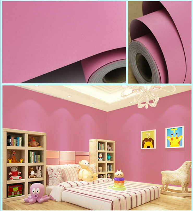 pvc self adhesive bedroom decoration wallpaper manufacturer