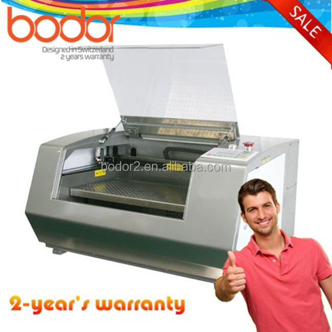 Hot sale mini CO2 laser cutting and enrgaving machine with300*500mm 600*500mm