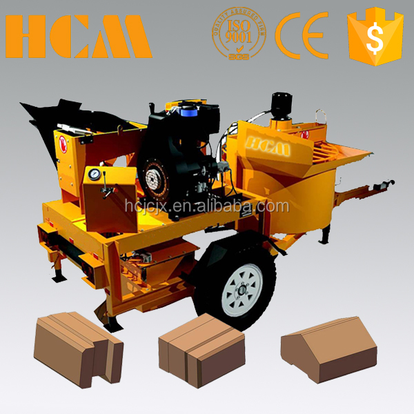 M7MI cement hydraform soil brick making machine