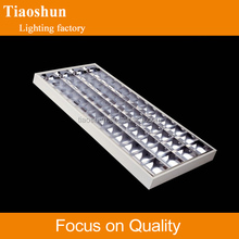 4x18w Fluorescent Lighting fitting T8 Grille lamp grille lighting,mounted louver light fixture,grille lamp