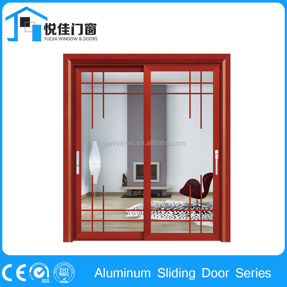 New model temporary screen door exterior door with screen