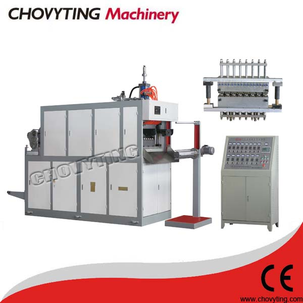 plastic processing machine for disposable cups