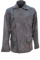 Buy Brown colour Fashion leather jacket for in China on Alibaba.com