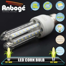 Led Corn Bulb E27 2835 85-265V led Light - 3W/5W/7W/9W/12W/15W/24W lamp - 16/24/36/48/60/80/120 pcs leds Bulb