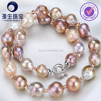 10-11mm Edison pearl factory supply natural freshwater pearl necklace