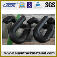 Railroad spring clip/Railway spring steel fasteners clip/high permanent clip strength rail clip