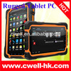 7 Inch IPS Screen mtk6589 quad core 3G/WIFI/Bluetooth/GPS/8.0MP IP66 Waterproof Rugged pc Hugerock T70S