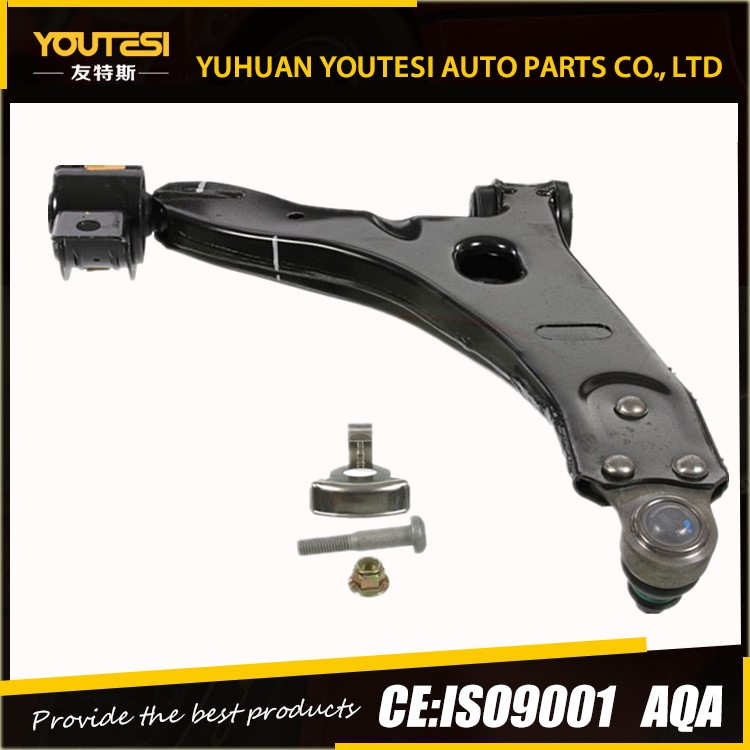 Both New Front Lower Control Arms w/Ball Joints for Ford K80406 YS4Z3079BA