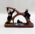 customized vintage poly resin Figurine Monkey for home decor christmas gifts factory maker