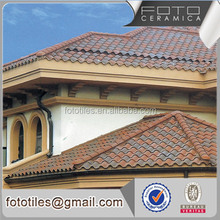 China easy instalation low price ceramic concrete roof tile