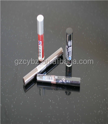 Factory sale directly transparent band printing pvc pipe labels for cosmetics wraping