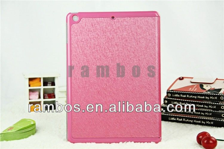 Folio Silk Case Pattern Tablet PC Protective Smart Foldable Case for iPad air 5