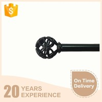 Bronze representative latest window designs decorative kids curtain rods