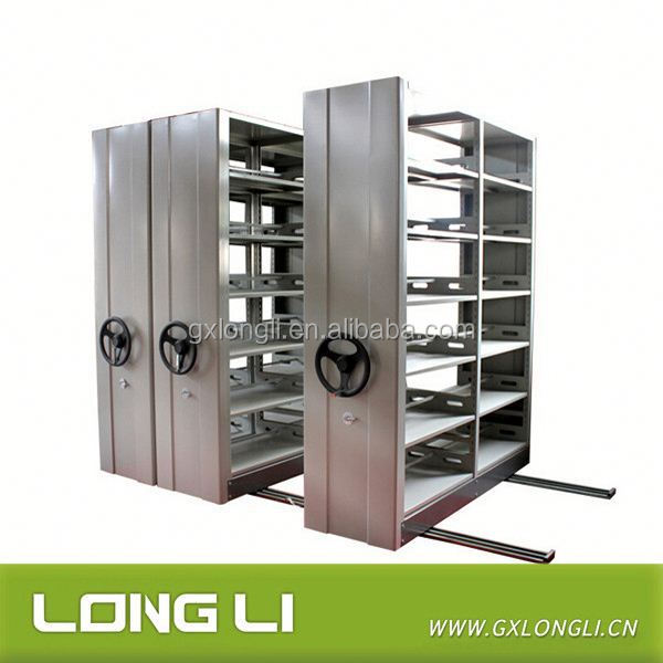 China factory easy operate storage compact mobile shelves /drawer filling cabinet system