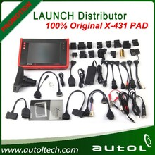 100% Original Universal Auto Scanner Launch X431 PAD Computer Diagnostic Tool 3G WIFI Update Online by Launch Website