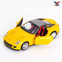 1:36 scale model pull back diecast metal toy car