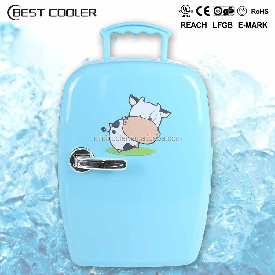 5L 12V portable car cooler box mini fridge