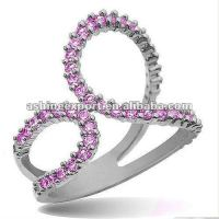 High end finish fine ring jewelry design