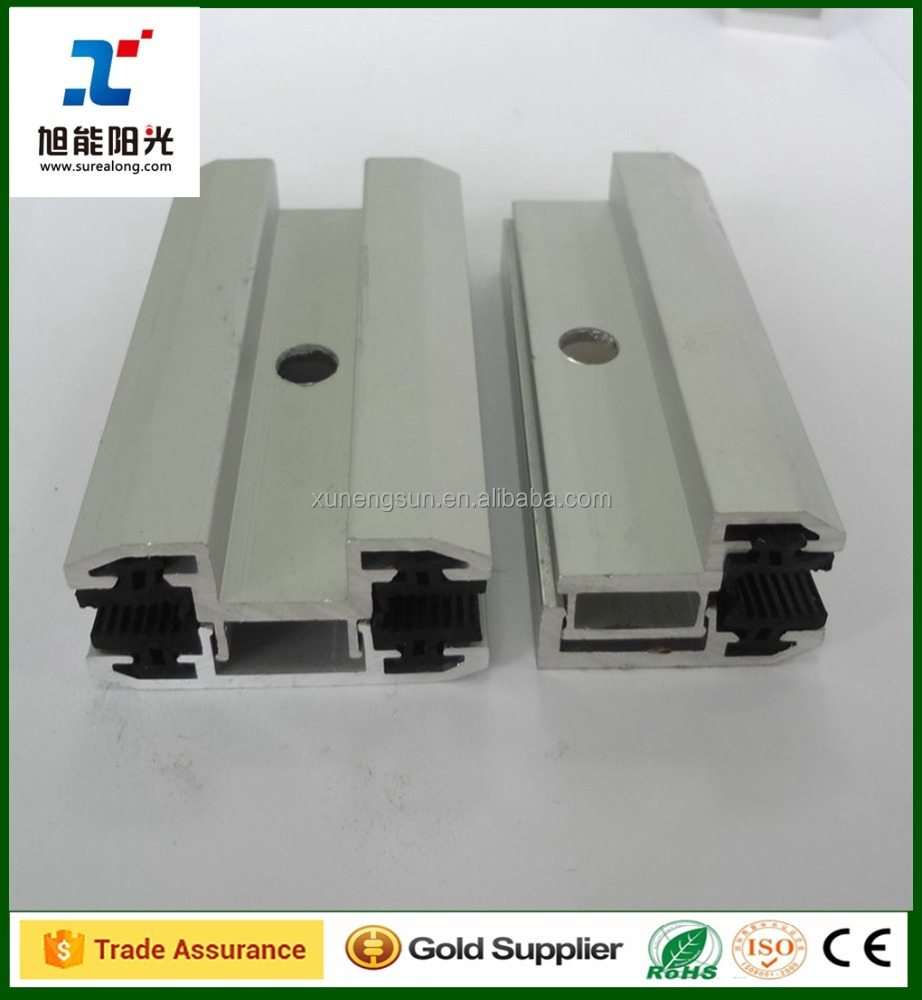Solar thin film panel clamp/mid/end clamp for BIPV