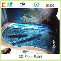 Hot shopping liquid 3d vinyl flooring paint for home decoration