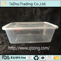 Custom Wholesale Clear Plastic Disposable Food Container