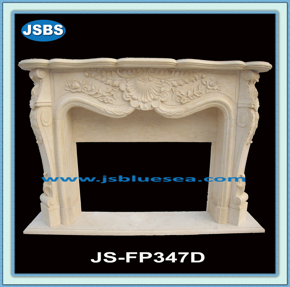 Hot Sale Marble Decorate Japanese Style Fireplace