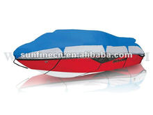 300D polyester silver coated boat cover with or without belt
