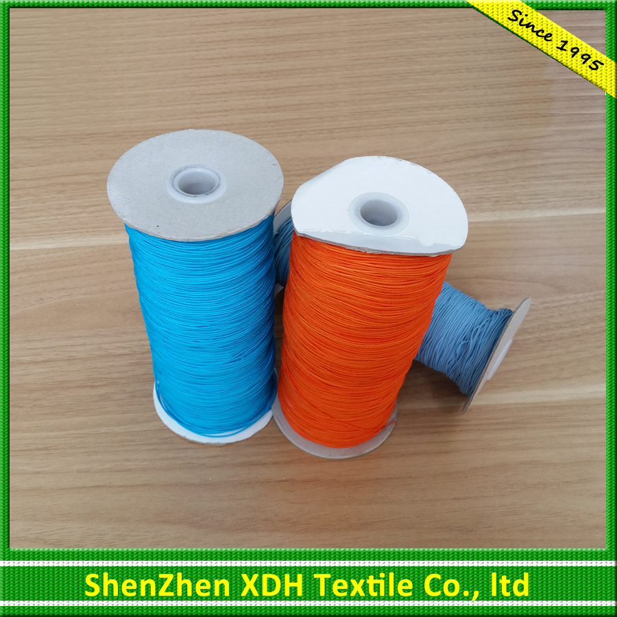 Colorful flat suede cord 3mm