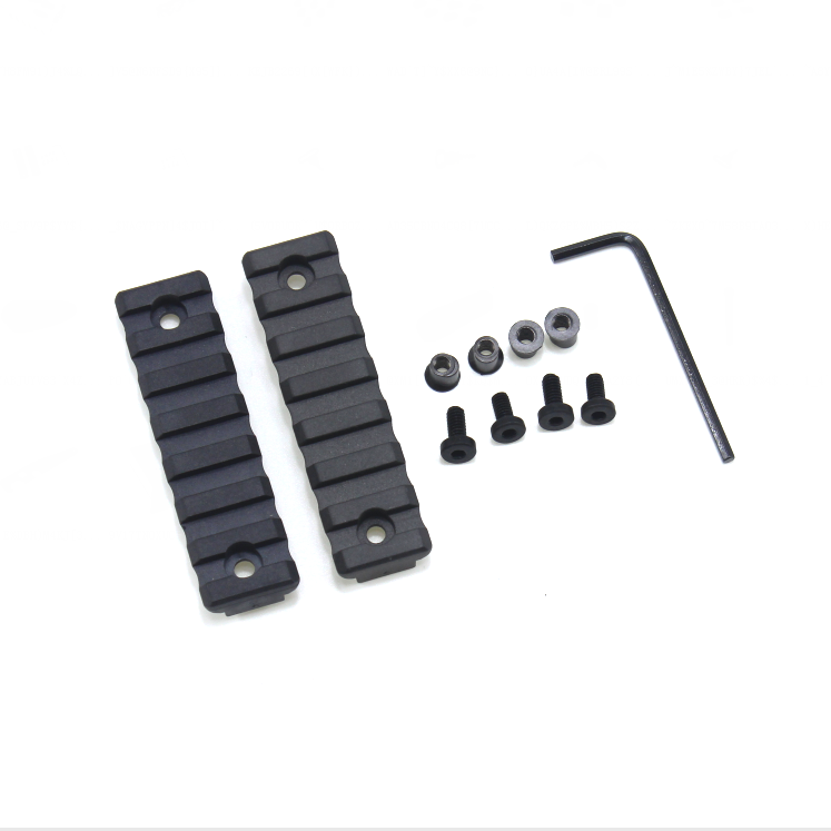 Small (7 Slot/3 inch) Picatinny Rail for Keymod Systems