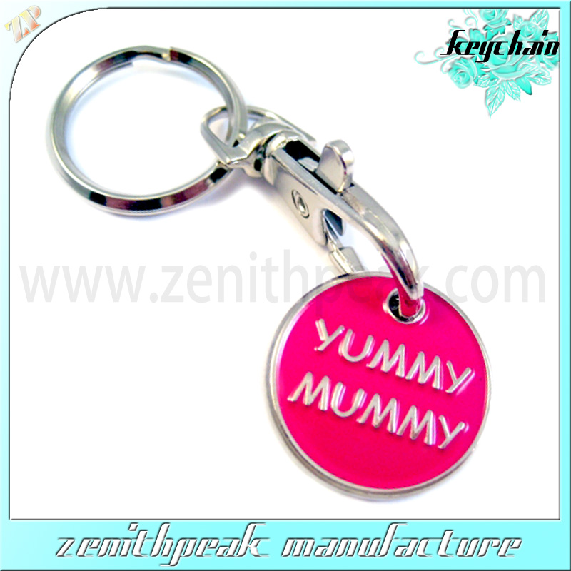 Fashionable Classic trolley coin keyring holder