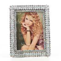 baroque resin photo frame touch screen 15 inch metal photo frame wall picture photo frame white