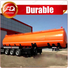 China made high quality sulfuric acid 3 axle tank semi trailer