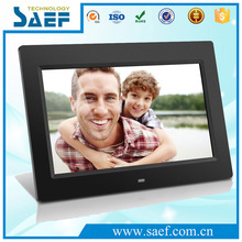 10.1 inch hanging Digital picture frames with clock/3d digital photo frame/ Remote control Electronic digital photo frame
