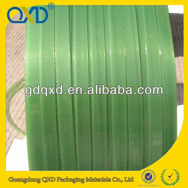 Green AAR Approval pet plastic strap