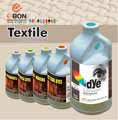 Reactive dye ink for Silk/Cotton printing