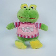 frog with cloth and wings Plush toys angel frog