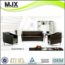 Top grade new coming pu/leather waiting sofa chair