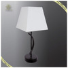 Hot Sale Classic White Fabric Shade Table Lamp Simple Style, Wholesale Table Lamps