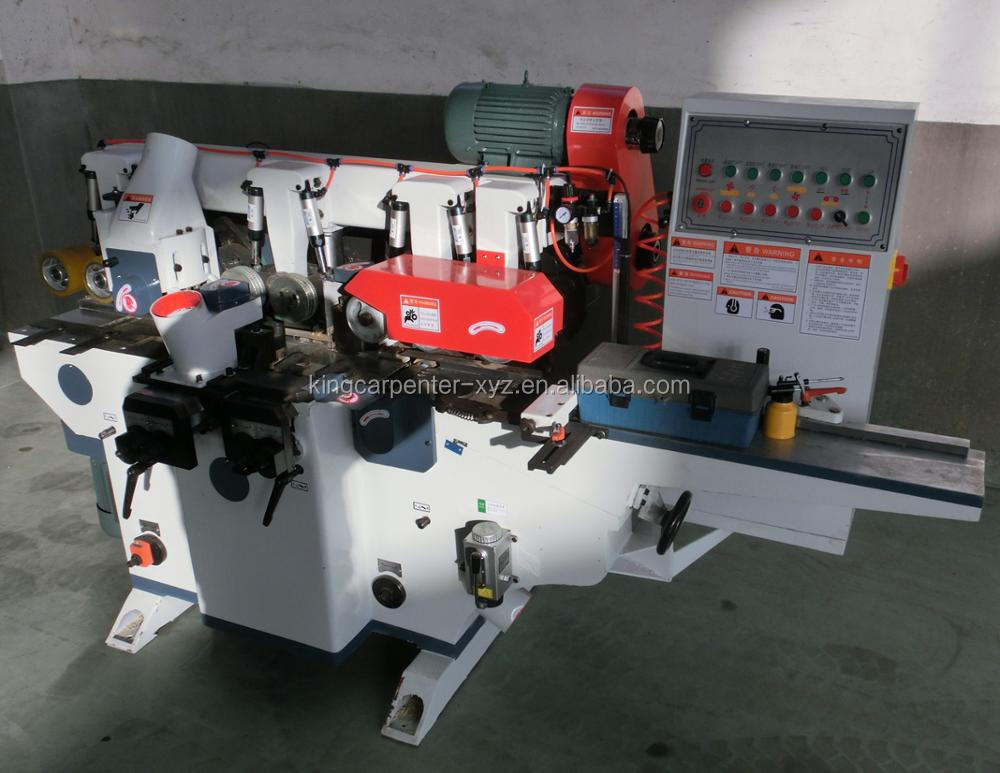 Four-Side Moulder 4 Sided Chemfering Woodworking Machine