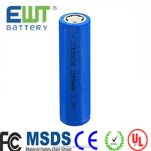 Best price li-ion 18650 battery 3.7v 2000mAh rechargeable lithium ion battery for flashlight