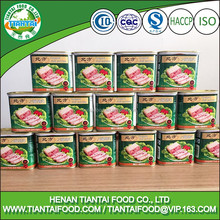 factory price canned chopped pork and ham