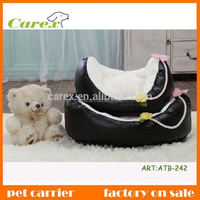 High quality wholesale custom lovely flax pet bed for dog and cat