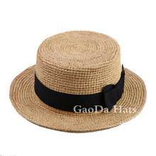 Special style small brim straw ladies hats